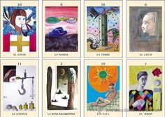 TAROT DE ALMA AJO, 22 ARCANOS MAYORES, 17ª BARAJA, EDICION 2010 Gallery Wall, Frame, Painting, Game Cards, Garlic, Frames, Painting Art, Paintings, Hoop