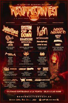 83 Best Metal Festivals Images In 2020 Festivals Around The