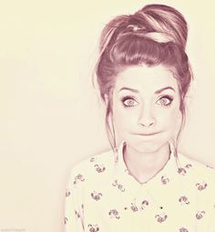 Zoella, Vlogger, Beauty Guru, and personal role model. I freaking love her.