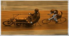 The thrill of motor-paced racing.