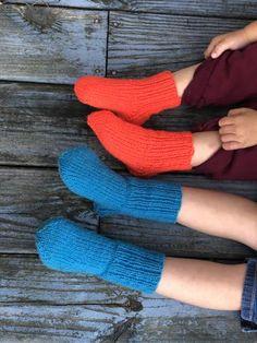 The Fisherman's Boot Socks – Maritime Family Fiber Fingerless Gloves Knitted, Knitted Slippers, Wool Socks, Knit Mittens, Knitting Socks, Knitted Hats, Crochet Shoes, Knit Or Crochet, Two Needle Socks