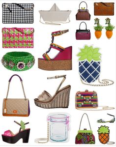 Take a look at some of our favorites Moschino Cheap and Chic accessories for this summer!