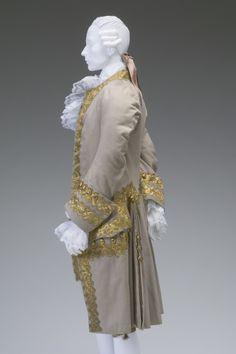GENTLEMAN'S COURT SUIT  Created: 1770  Note: Worn to Marie Antoinette's wedding