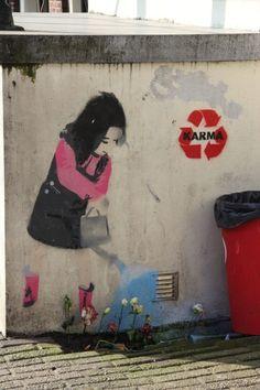 I believe in karma and street art