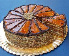 Tort Dobos pandispan si crema densa de ciocolata ...combinatia perfecta! loading...