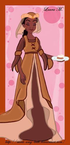 Tiana peasant by Sweet-Amy-Leah.deviantart.com on @deviantART