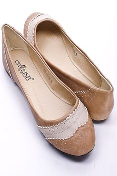 Faux Leather Oxford Flats 10.99 usd