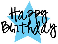 Free Happy Birthday Clipart and graphics to for invitations ...