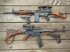 """""""/k/ - Weapons"""" is imageboard for discussing all types of weaponry, from military tanks to guns and knives. Military Weapons, Weapons Guns, Guns And Ammo, Armas Wallpaper, Battle Rifle, Submachine Gun, Cool Guns, Assault Rifle, Panzer"""