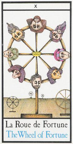 Wheel of Fortune - Maddonni Tarot / Sacred Geometry <3