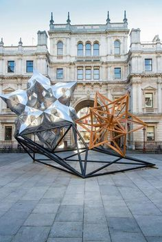 "Frank Stella - ""Inflated Star and Wooden Star"" 2015"