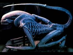 #HRGiger 1990 ALIEN 3 MODEL « Sculptures and jewelry « H.R.Giger « Artists « Art might - just art