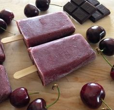 Chocolate-Cherry Popsicles! | Dallas Nutritionist | Nutrition By Kara