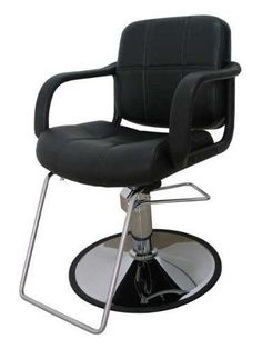 Beauty Salon Chair Barber Hydraulic Stool Work Station Styling Equipment Hair #BeautySalonChair