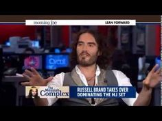 Russell Brand Owns MSNBC Morning Show