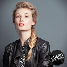 #braid #trança #blonde #inspiration #hairstyle #TRESemme #TRESemmebr