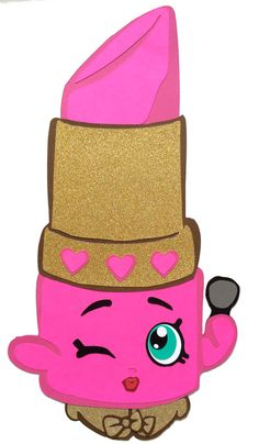 Shopkins Party Decoration Lippy Lips By KsPaperieDreams