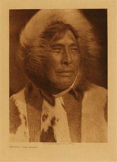 Nuktaya, King Island,1928. Edward Sheriff Curtis Photography.