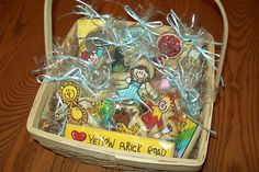Wizard of Oz Basket of Cookies