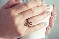 Bronze Infinity Ring   Wire Wrap Ring   Double Wrapped Ring   Geometric Ring   Rings For Women Be Your Own Kind Of Beautiful, Handmade Rings, Knuckle Rings, Wire Wrapped Rings, One Ring, Men Necklace, Ring Designs, Wire Wrapping, Infinity