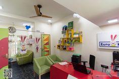Kindergarten reception interior