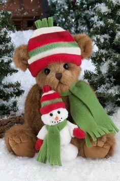 teddy bear bearington    Bearington Bears Flurry & Frostbite