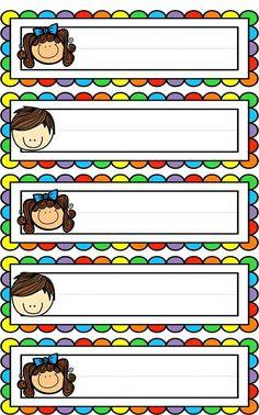 Badges for Kindergarten Children - Preschool Children Akctivitiys Classroom Labels, Classroom Rules, Classroom Organization, Classroom Decor, Classroom Borders, School Border, School Frame, School Labels, School Clipart