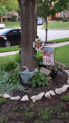 Fresh Front Yard and Backyard Landscaping Ideas - All For Garden Landscaping Around Trees, Outdoor Landscaping, Front Yard Landscaping, Outdoor Gardens, Landscaping Ideas, Landscaping Borders, Inexpensive Landscaping, Shade Landscaping, Acreage Landscaping