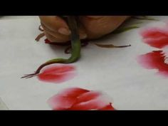 牡丹畫法02 - YouTube