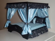 Need one in purple for princess Bailey! Large Canopy Dog ??? : dog canopy bed - memphite.com