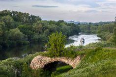 Dnieper River, Smolensk Region, Russia.