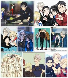 Yuri on Ice | Yuuri, Yurio, and Victor