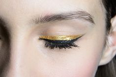 littlecatlady:  where can i get a gold eyeliner like this???do one of you guys know