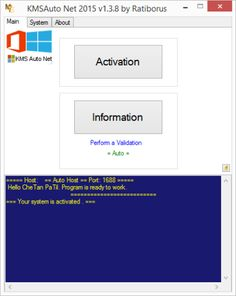 KMSAuto Net 2015 Windows 10 Activator Full Free Download from www.softwareshax.com