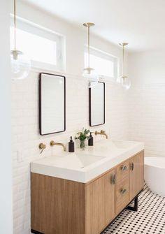 Antes y después de un dormitorio con baño muy elegante | Decorar tu casa es facilisimo.com