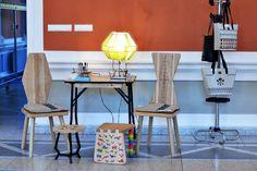 iutta, sezi// // Noaptea alba a creatorilor si designerilor de produs nr. 4 // Drafting Desk, Woodworking, Furniture, Design, Home Decor, Atelier, Decoration Home, Room Decor