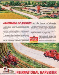 1949 International Harvester Landmark of Service.