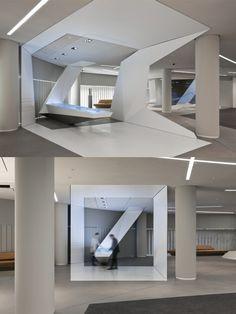 The BrandSpace  Environmental Design  client Deutsche Bank AG, Frankfurt/Main  design ART+COM, Berlin; Coordination, Berlin