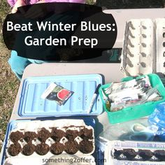 Ways to Beat the Winter Blues: Garden Prep