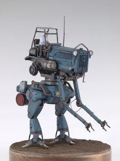 Arte Robot, Lego Robot, Military Robot, Sci Fi Miniatures, Sci Fi Models, Robot Concept Art, Robot Design, Fiction, Character Modeling