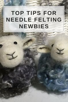 Let me show you how to avoid common needle felting mistakes before you even start, with 14 easy first steps and some needle felting mini tutorials. Health warning! Needle felting can lead to compulsive creativity! #needlefeltingtutorials
