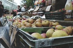 Fall Apples in Broadway Market, East London <3 from Christina+Blair