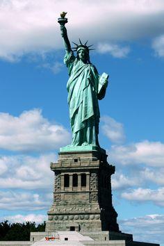 Amazing Places           - about-usa:    Statue Of Liberty - New York - USA...