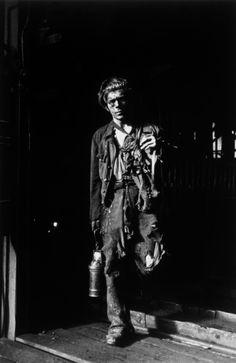 Robert Capa - October 1949. A Polish coalminer.