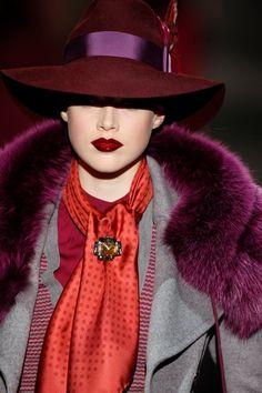 Stunning Ralph Lauren coat and hat.