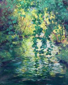 Along the Brook, c. 1912 - Guy Orlando Rose (1867-1925)