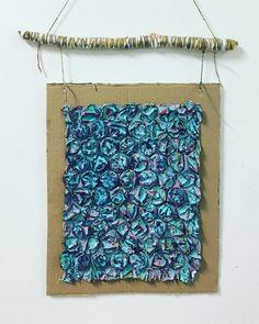 Wrapped Sticks, Bubble Wrap, Centre, Bubbles, Wool, Bubble Wrap Envelopes