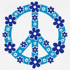 Peace Symbol Love Freedom Love Flower Hippie