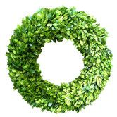Found it at AllModern - Boxwood Country Manor Wreath