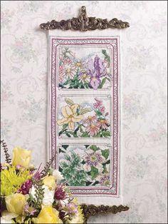Cross-Stitch - Fruit & Florals - Classic Flowers